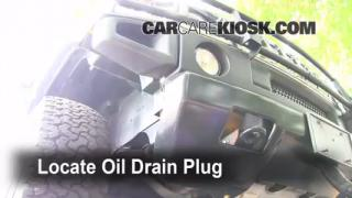 Oil & Filter Change Hummer H2 (2003-2009)