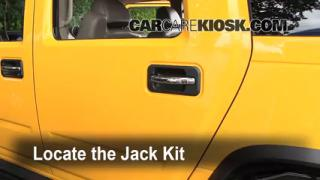 2003-2009 Hummer H2 Jack Up How To