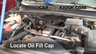 2003 Jeep Grand Cherokee Laredo 4.0L 6 Cyl. Oil Add Oil