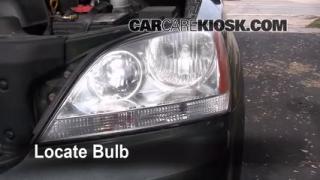 2003 Kia Sorento EX 3.5L V6 Lights Highbeam (replace bulb)