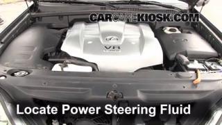 2003 Lexus GX470 4.7L V8 Fluid Leaks Power Steering Fluid (fix leaks)