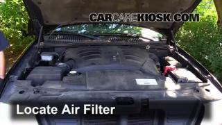 2003 Lincoln Aviator 4.6L V8 Filtro de aire (motor) Cambio