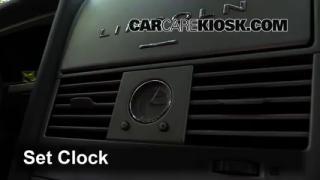 2003 Lincoln Aviator 4.6L V8 Reloj Fijar hora de reloj