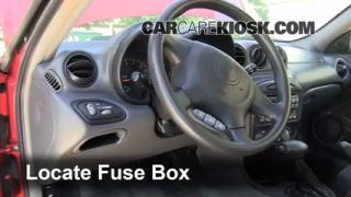 1999-2005 Pontiac Grand Am Interior Fuse Check