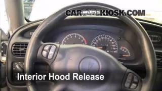 Open Hood How To 1997-2003 Pontiac Grand Prix