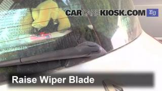 2003 Renault Megane Authentique 1.5L 4 Cyl. Turbo Diesel Windshield Wiper Blade (Rear) Replace Wiper Blade