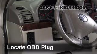 interior fuse box location suzuki xl suzuki xl engine light is on 2002 2006 suzuki xl 7 what to do