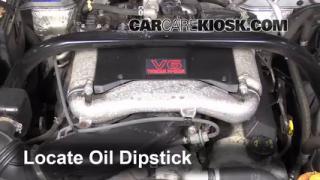 2003 Suzuki XL-7 Touring 2.7L V6 Oil Check Oil Level
