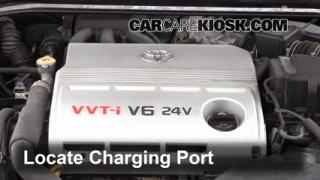 2003 Toyota Camry XLE 3.0L V6 Air Conditioner Recharge Freon