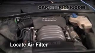 2001-2005 Audi Allroad Quattro Engine Air Filter Check