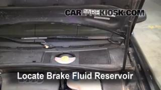 2004 Audi A6 3.0L V6 Brake Fluid Check Fluid Level