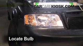 Highbeam (Brights) Change: 1998-2004 Audi A6