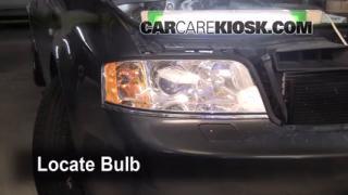 2004 Audi A6 3.0L V6 Lights Parking Light (replace bulb)