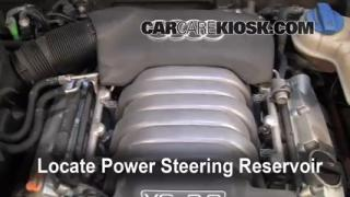 2004 Audi A6 3.0L V6 Power Steering Fluid Fix Leaks