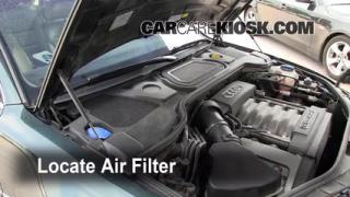 2004-2010 Audi A8 Quattro Cabin Air Filter Check