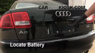 Battery Replacement: 2004-2010 Audi A8 Quattro