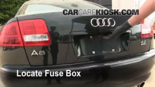 Replace a Fuse: 2004-2010 Audi A8 Quattro