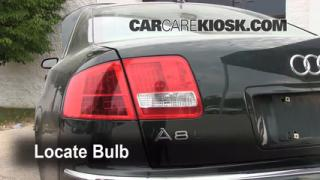 Tail Light Change 2004-2010 Audi A8 Quattro