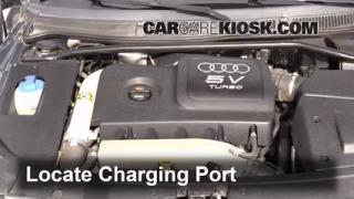 2004 Audi TT Quattro 1.8L 4 Cyl. Turbo Convertible Air Conditioner Recharge Freon
