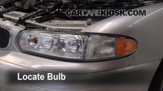 2004 Buick Century Custom 3.1L V6 Lights Headlight (replace bulb)