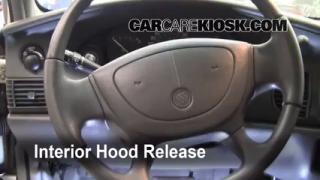 Open Hood How To 1997-2005 Buick Century