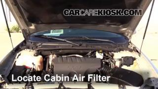 2004 Buick LeSabre Custom 3.8L V6 Air Filter (Cabin) Check