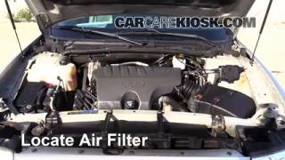 2000-2005 Buick LeSabre Engine Air Filter Check
