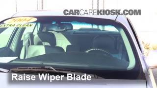Front Wiper Blade Change Buick LeSabre (2000-2005)
