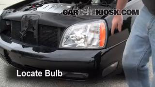 2004 Cadillac DeVille DTS 4.6L V8 Lights Fog Light (replace bulb)