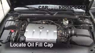 How to Add Oil Cadillac DeVille (2000-2005)