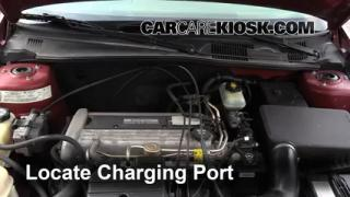 2004 Chevrolet Classic 2.2L 4 Cyl. Air Conditioner Recharge Freon
