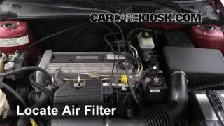 2004 Chevrolet Classic 2.2L 4 Cyl. Air Filter (Engine) Check
