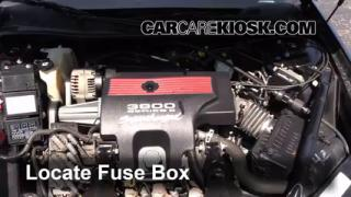 2004 Chevrolet Impala SS 3.8L V6 Supercharged Fuse (Engine) Replace