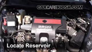 2004 Chevrolet Impala SS 3.8L V6 Supercharged Windshield Washer Fluid Add Fluid