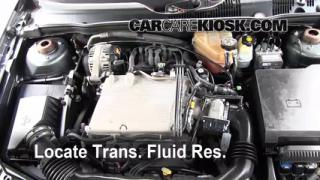 Add Transmission Fluid: 2004-2008 Chevrolet Malibu