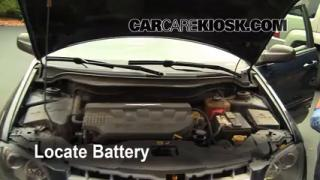 How to Clean Battery Corrosion: 2004-2008 Chrysler Pacifica