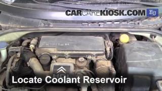 2004 Citroen C3 SX 1.4L 4 Cyl. Turbo Diesel Refrigerante (anticongelante) Sellar pérdidas