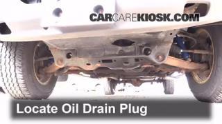 Oil & Filter Change Dodge Dakota (1997-2004)