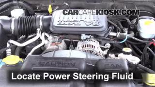 Follow These Steps to Add Power Steering Fluid to a Dodge Dakota (1997-2004)