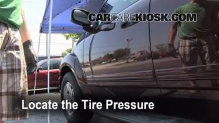 Properly Check Tire Pressure: Dodge Durango (2004-2009)
