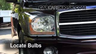 Parking Light Change 2004-2009 Dodge Durango