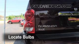 Tail Light Change 2004-2009 Dodge Durango