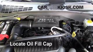 How to Add Oil Dodge Durango (2004-2009)