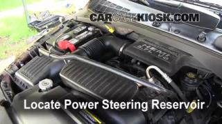 Follow These Steps to Add Power Steering Fluid to a Dodge Durango (2004-2009)