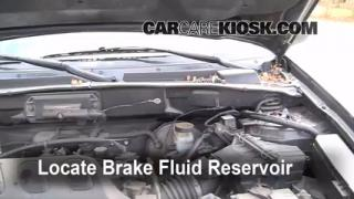 2004 Ford Escape Limited 3.0L V6 Brake Fluid Check Fluid Level