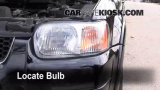 Highbeam (Brights) Change: 2001-2004 Ford Escape