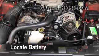 2004 Ford Mustang 3.9L V6 Coupe Battery Jumpstart