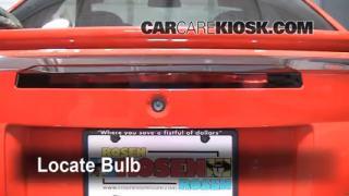 Third Brake Light Bulb Change Ford Mustang (1994-2004)