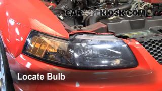 Headlight Change 1994-2004 Ford Mustang