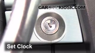 How to Set the Clock on a Lincoln LS (2000-2002)
